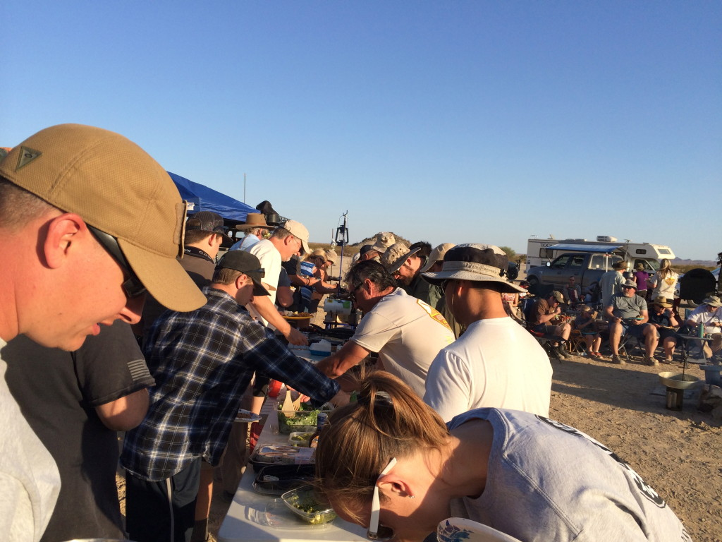 potluck and dutch oven competition