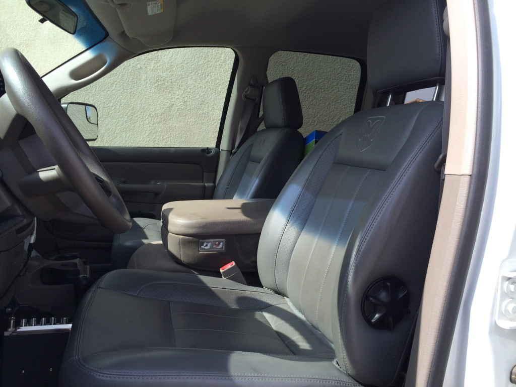 used Dodge leather seats