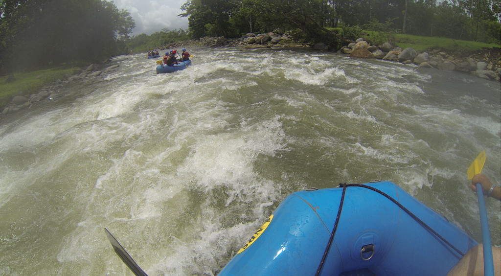 riding these rapids