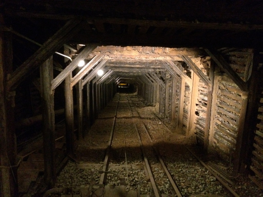 main mine shaft